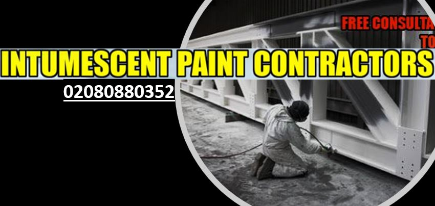 Steal coating-intumescent paint contractors london 02080880352